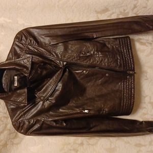 Miu Miu leather jacket.